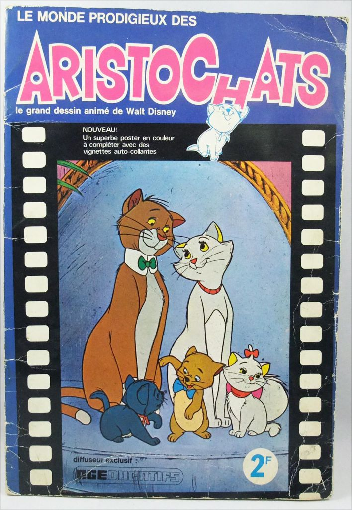 The Aristocats - AGE Stickers collector book 1971