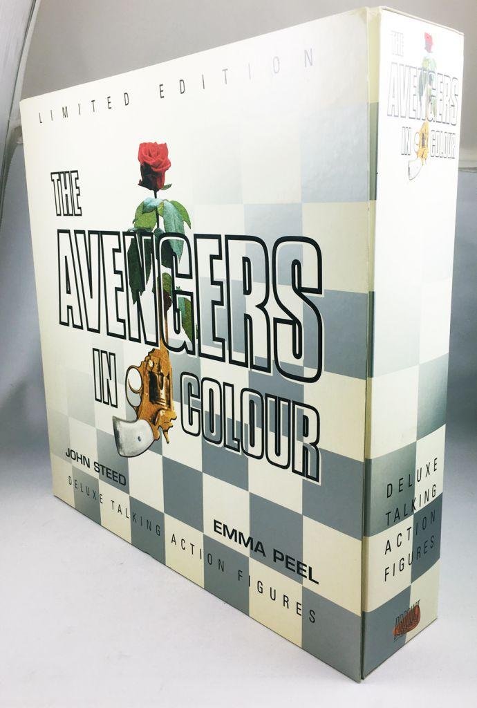 "The Avengers \""in colour\"" - John Steed & Emma Peel - Product Enterprise"