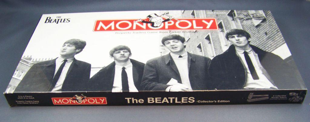 Les Beatles - Jeu du Monopoly Parker Brothers-Hasbro 2008 02