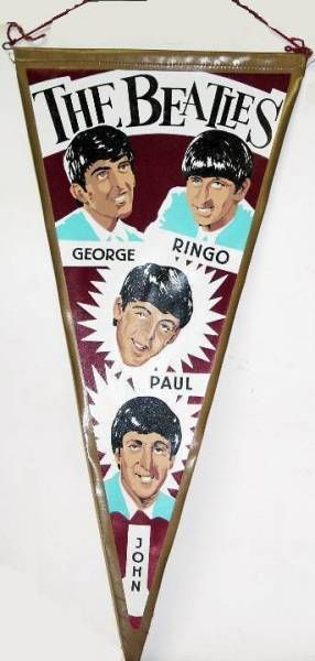 The Beatles - Pennant - The Beatles