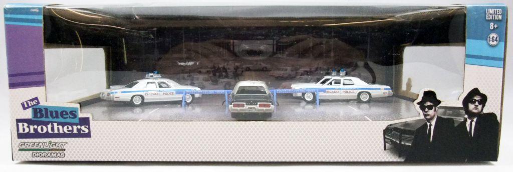 The Blues Brothers - 23rd Street Bridge Diorama (métal 1:64ème) Greenlight Hollywood