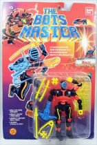 The Bots Master - Ninjzz : ZZ\'s Martial Arts Master - ToyBiz Bandai