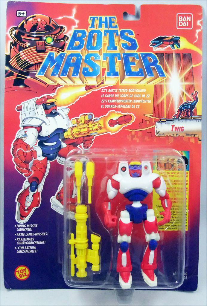 The Bots Master - Twig : ZZ\'s Battle Tested Bodyguard - ToyBiz Bandai