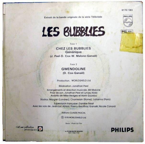 The Bubblies - TV Serie theme - 45s