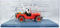 The Cars of Tintin (1:24 scale) - Hachette - #06 Red Jeep (Land of Black Gold)