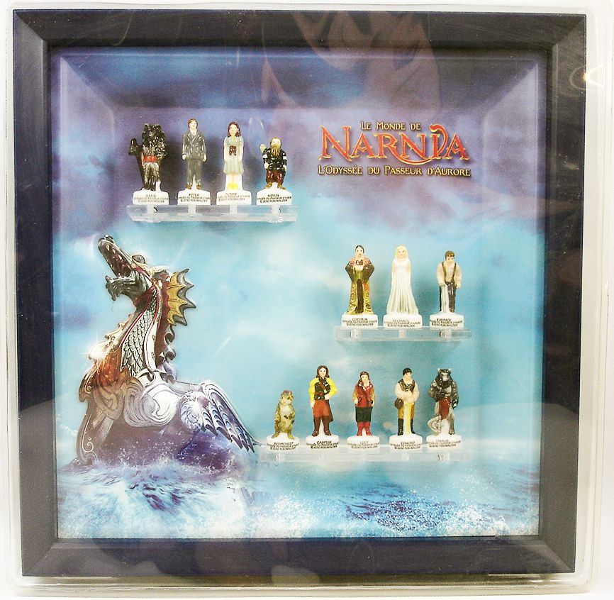 The Chronicles of Narnia : The Voyage of the Dawn Treader - Boxed gift-set of 12 porcelain bean-figures