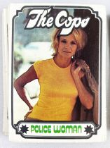 The Cops - Monty Gum Trading Cards (1976) - Complet series of 99 trading cards (Colombo, Cannon, Mc Cloud, Police Woman, 2-Cars)