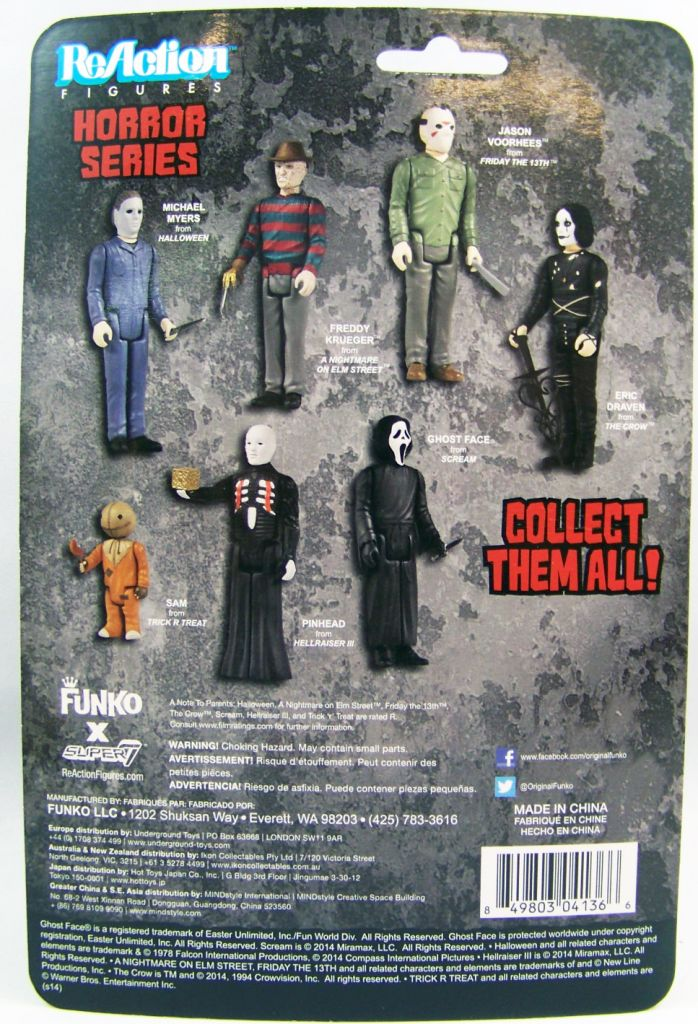 The Crow - ReAction Figure Horror Series 02