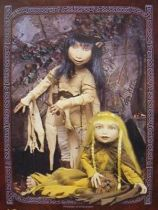 "The Dark Crystal - Jen & Kira Gelfling 12"" figures - Sideshow Toy"