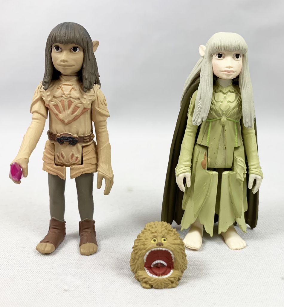 The Dark Crystal - ReAction Funko - Set of 6 loose figures: Jen, Kira w/Fizzgig, Aughra, Ursol, The Chamberlain Skeksis...