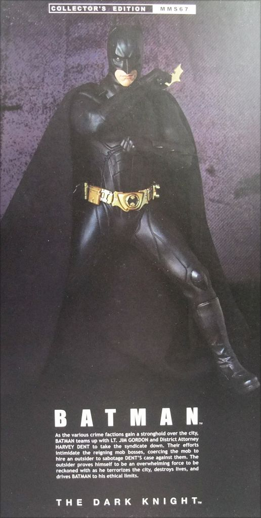 "The Dark Knight - Batman \""Original Costume\"" - 12\"" figure - Hot Toys MMS67"