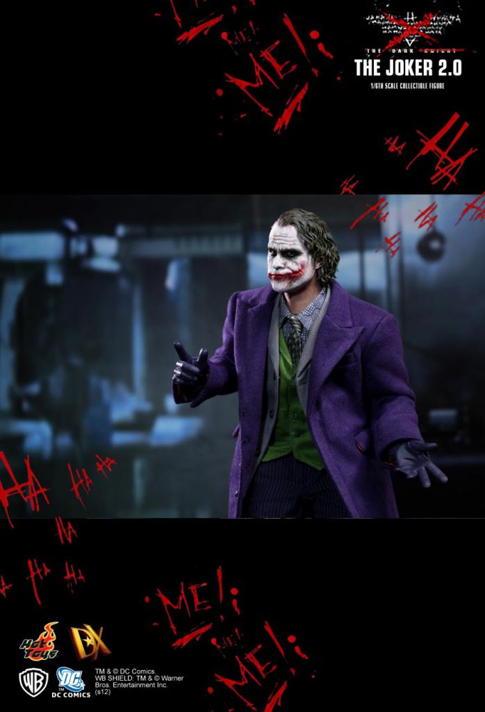 "The Dark Knight - The Joker 2.0 - 12"" figure - Hot Toys DX11"