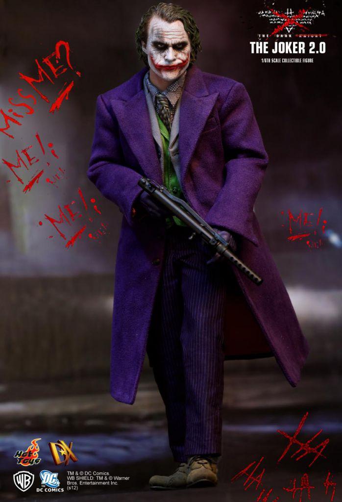 The Dark Knight - The Joker 2.0 - Figurine 30cm Hot Toys DX11