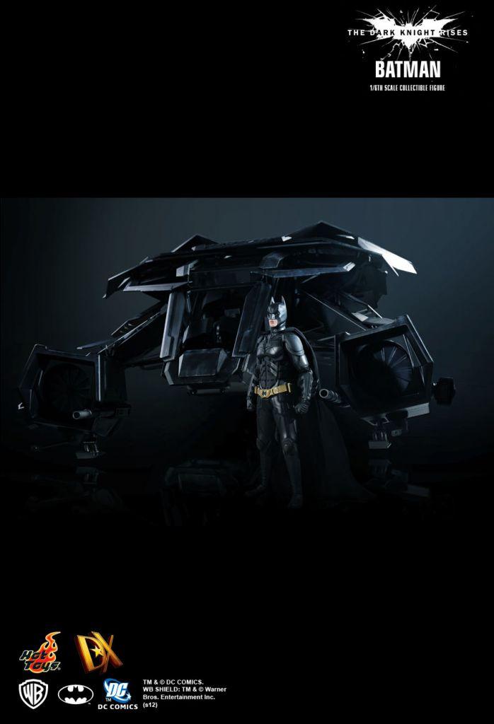 The Dark Knight Rises - Batman/ Bruce Wayne - Figurine 30cm Hot Toys DX12
