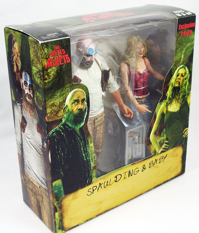 The Devil\'s Rejects - Spaulding & Baby - Figurines Exclusives SDCC  NECA (1)