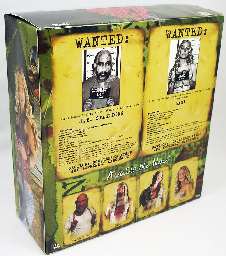 The Devil\'s Rejects - Spaulding & Baby - Figurines Exclusives SDCC  NECA (2)