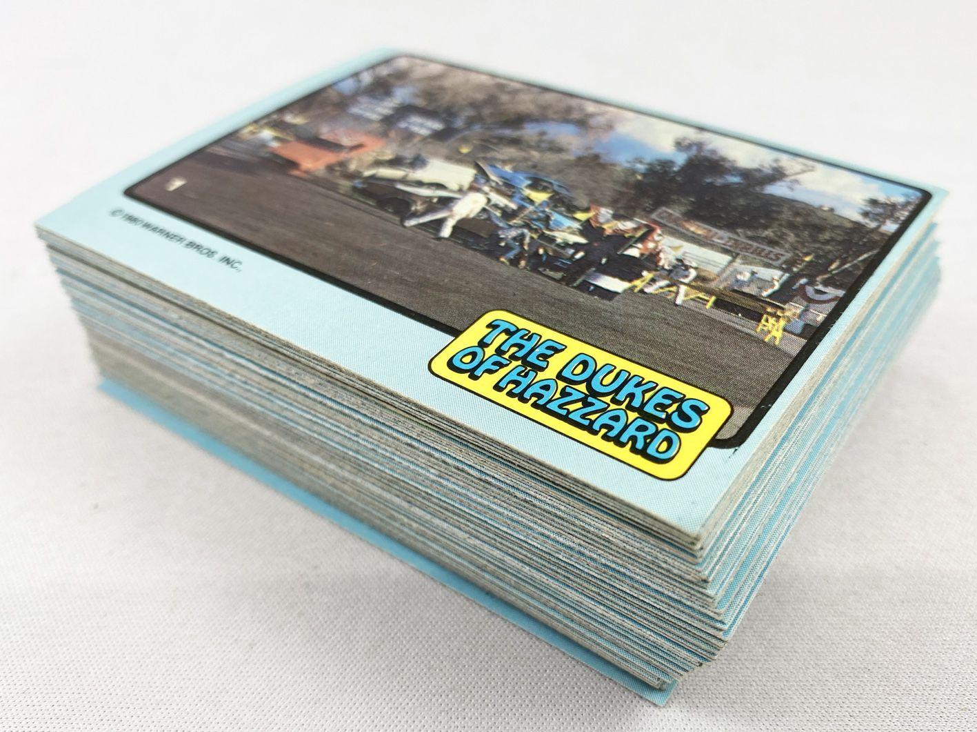 The Dukes of Hazzard - Donruss Trading Bubble Gum Cards (1988) - Série 1 complète 65 cartes