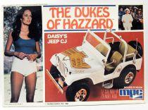 The Dukes of Hazzard - MPC - Daisy\'s Jeep CJ 1/25 Model Kit