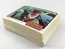 The Dukes of Hazzard (Sherif fais-moi peur!) - Donruss Trading Bubble Gum Cards (1981) - Série 2 complète 60 cartes + 6 stickers