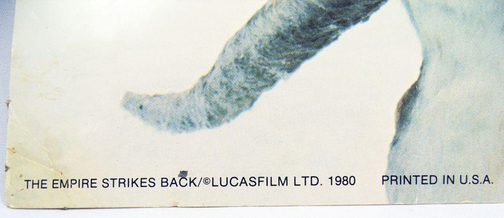 The Empire Strikes Back (1980) - Lobby Card (grande taille) - Luke et son Tauntaun sur Hoth 02