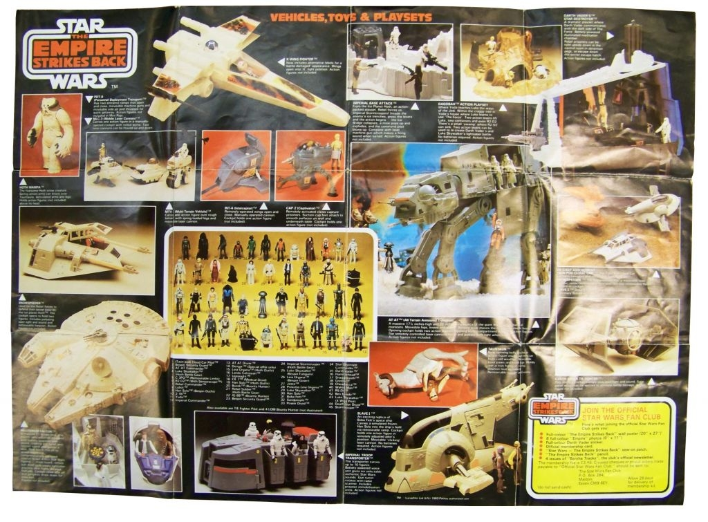 The Empire strikes back 1982 - Palitoy - Catalogue-Poster B 02