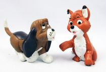 The Fox and the Hound - M+B Maia & Borges pvc figures - Tod & Copper