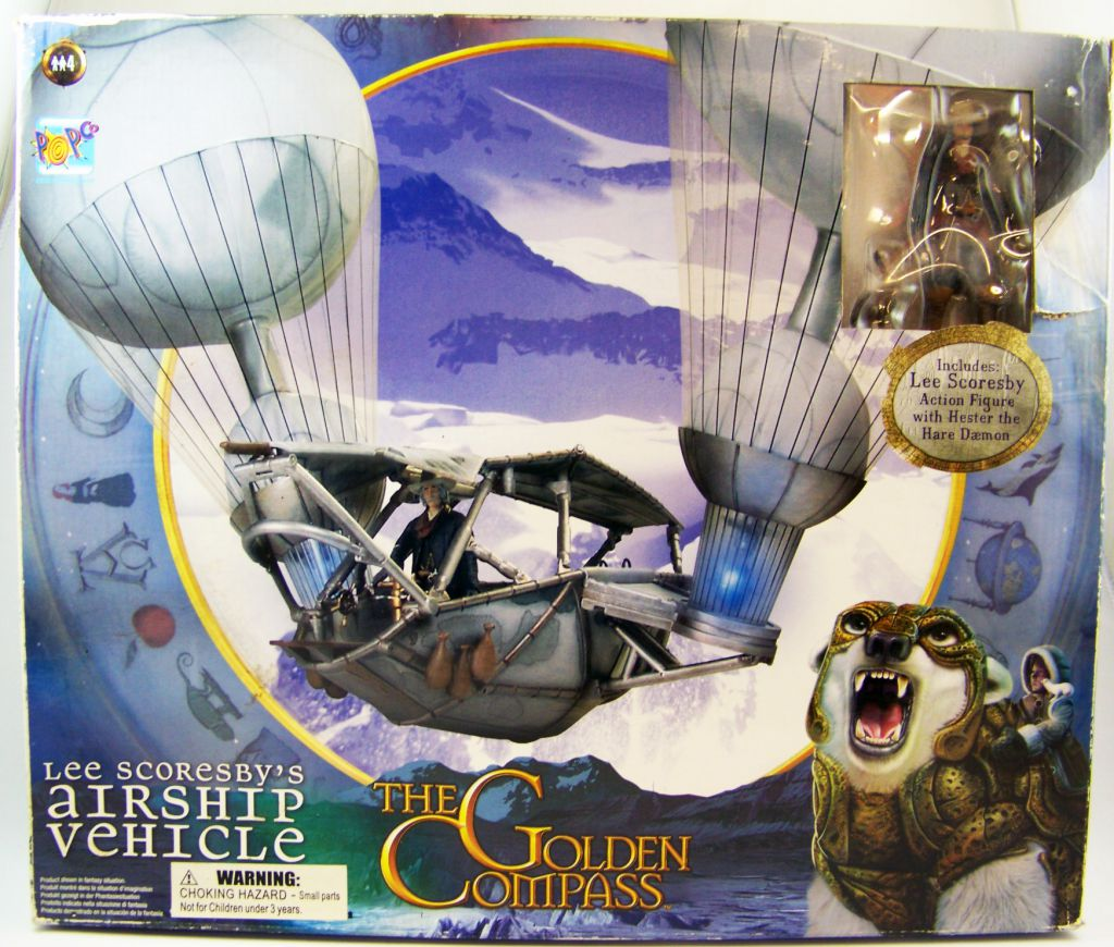 Action Figure Golden Compass Lee Scoresby Popco The