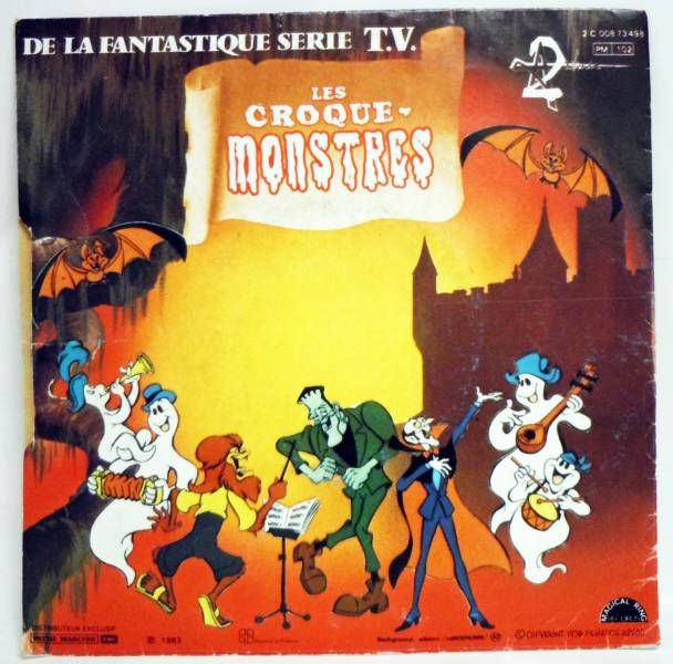 The Groovie Goolies - Original Soundtrack 45T - Pathé Marconi/Magical Ring Records 1983