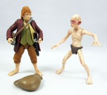 The Hobbit : An Unexpected Journey - Bilbo Baggins & Gollum (loose)