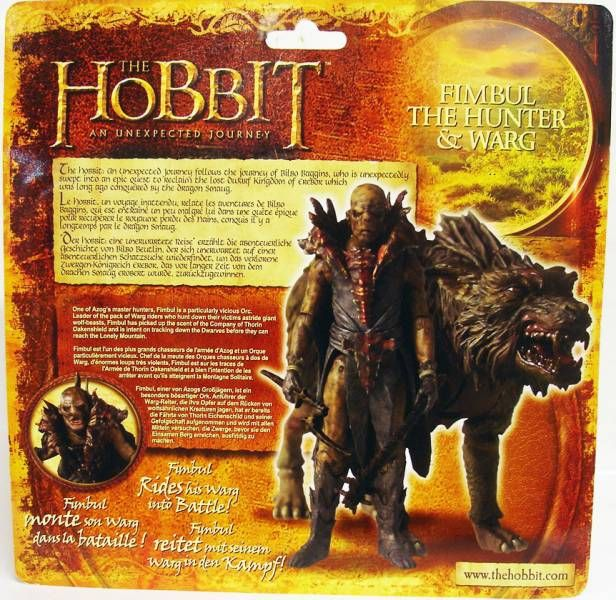The Hobbit : An Unexpected Journey - Fimbul the Hunter & Warg