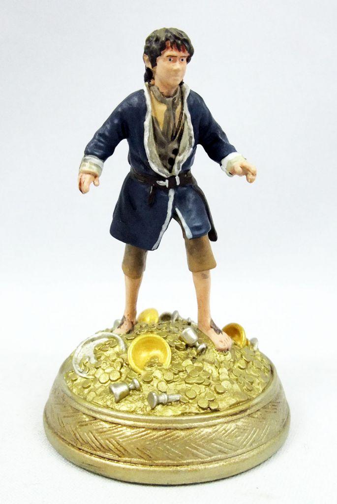 The Hobbit - Eaglemoss - #08 Bilbo Baggins at Lonely Mountain (loose)