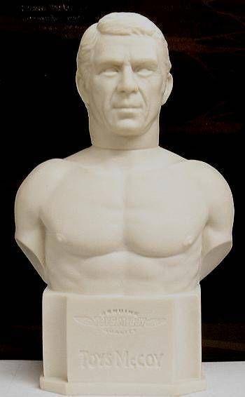 The Hunter - Papa Thorson (Steve McQueen) - White vinyl bust - ToysMcCoy