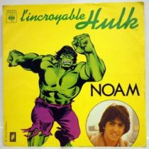 The Incredible Hulk - Mini-LP Record - Original French TV series Soundtrack - CBS / Saban Records 1980