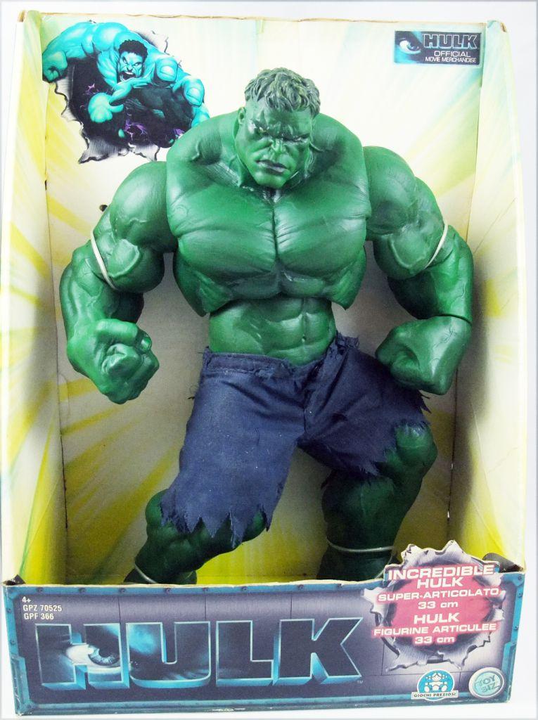"The Incredible Hulk (2003 Movie) - Hulk 12\"" rotocast figure - Toybiz Giochi Preziosi"