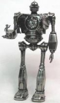 The Iron Giant metal clock figure