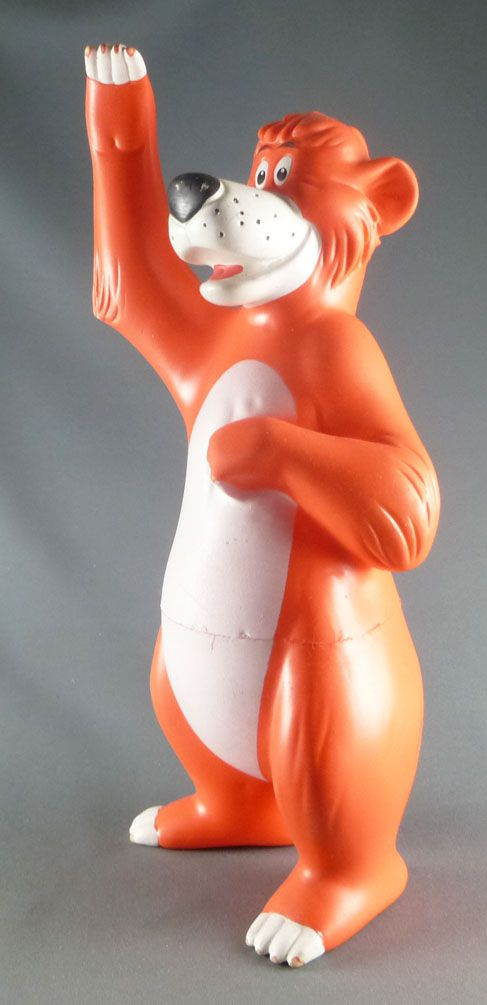 The Jungle Book - Delacoste Squeeze Toy - Baloo