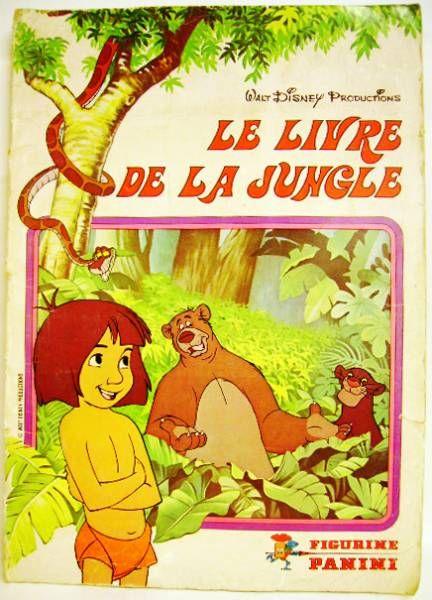 The Jungle Book - Panini Stickers collector book