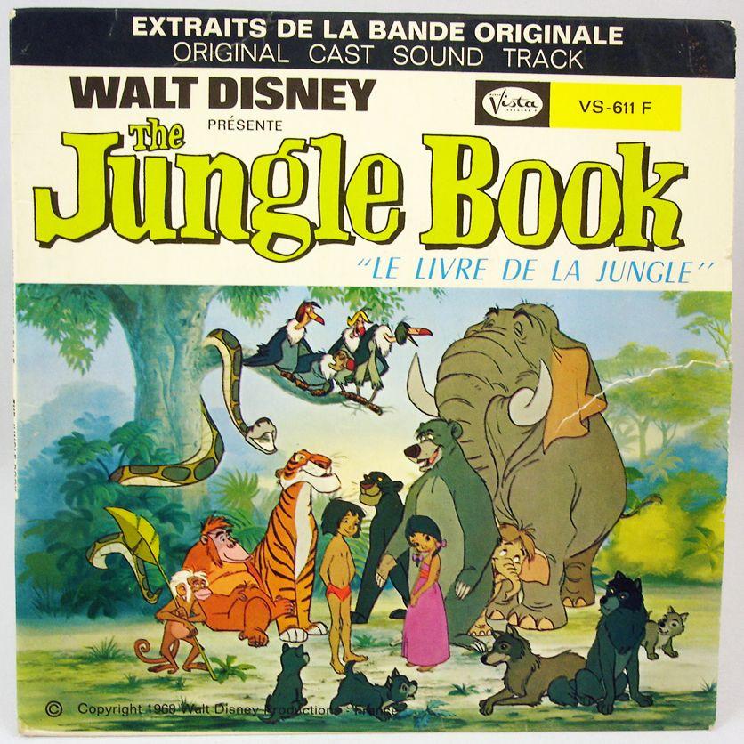The Jungle Book Record 45s Buena Vista Record 1968