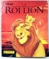 The Lion King - Panini Stickers collector book 1994