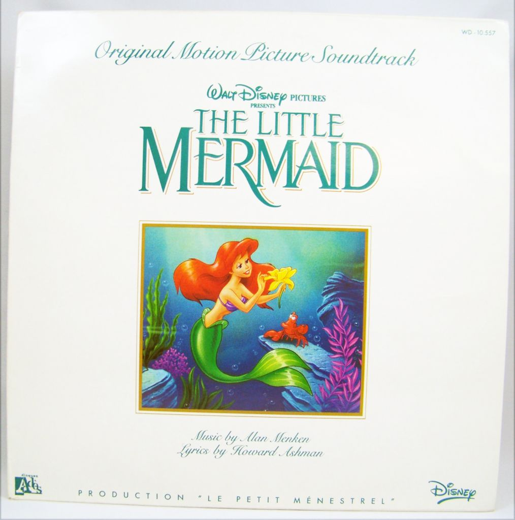 The Little Mermaid Lp Record Original Motion Picture