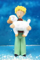 The Little Prince with Sheep (A. de St. Exupery) - PVC figure - Plastoy 2007