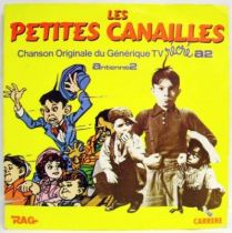 The Little Rascals Original French TV series Soundtrack - Mini-LP Record - Carrere 1984