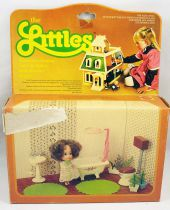 The Littles - Mattel - Daphne & Bathroom Setting Ref.3225