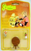 The Littles - Mattel - Diecast Furnitures: Guéridon Table Ref.1799