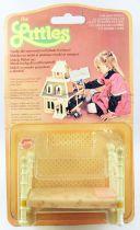 The Littles - Mattel - Mobiliers Métal : Le lit Ref.3215