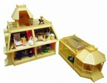 The Littles - Mattel - The Littles Dollhouse & Starter House (Dolls & Furnitures included)