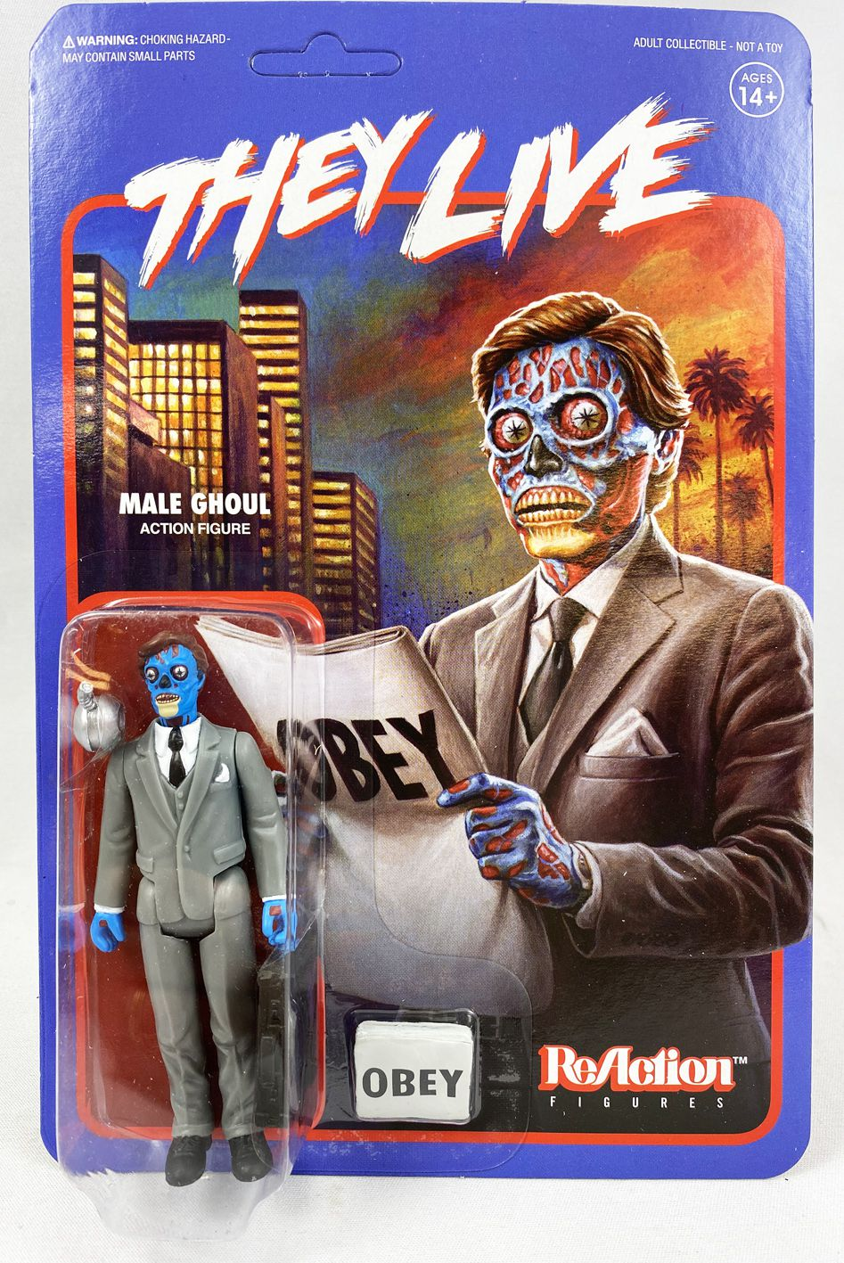 The Live - Super7 ReAction Figure - Male Ghoul