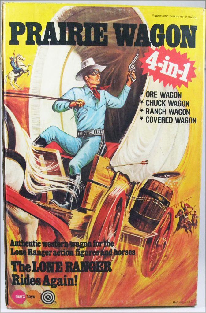 The Lone Ranger - Marx Toys - Accessoire Prairie Wagon