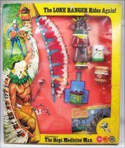 The Lone Ranger - Marx Toys - Accessory Set The Hopi Medicine Man