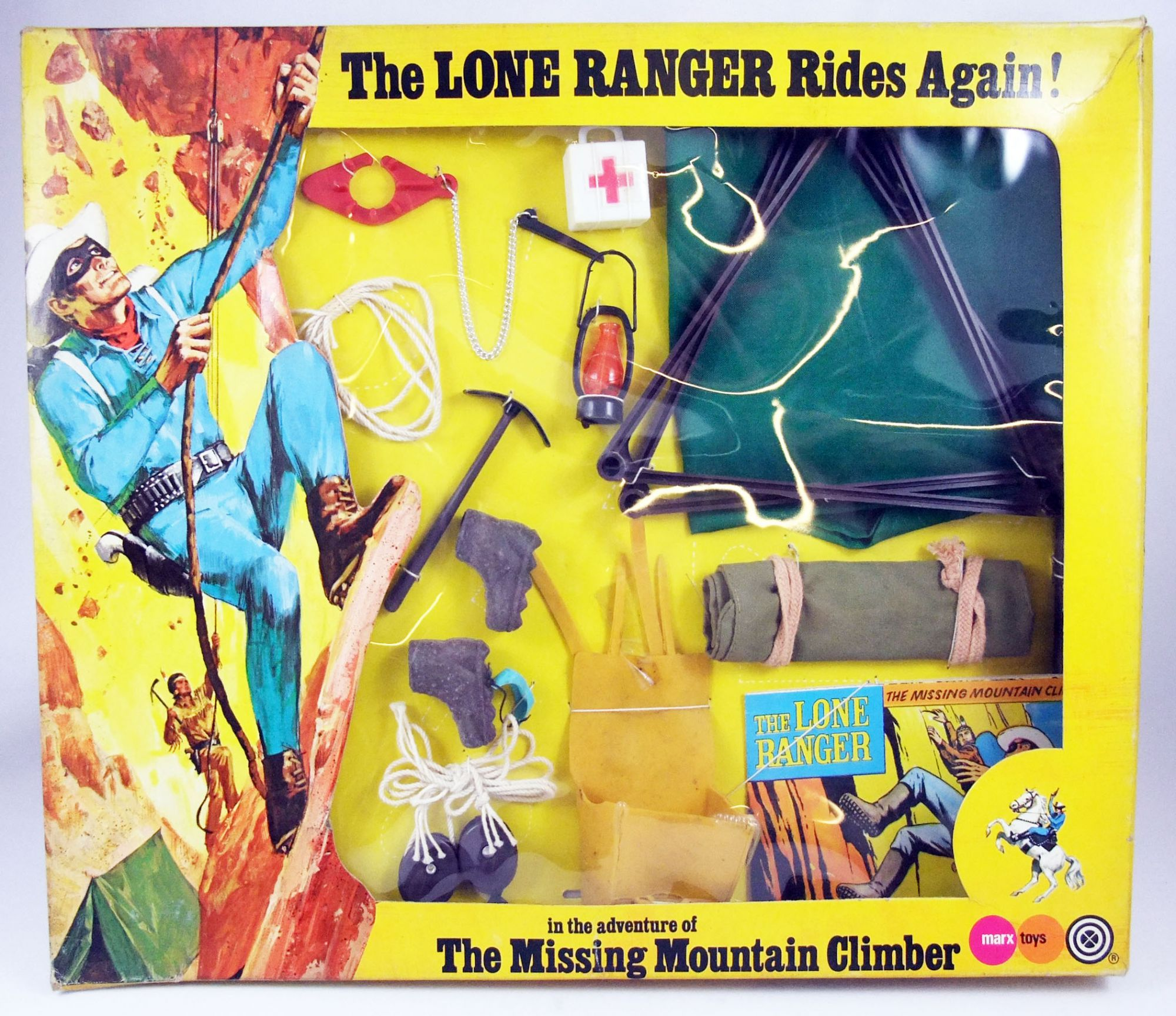 The Lone Ranger - Marx Toys - Accessory Set The Missing Mountain Climber